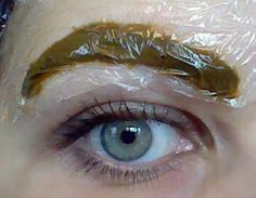 Naturally Dye Your Eyebrows With Henna | Henna Blog Spot