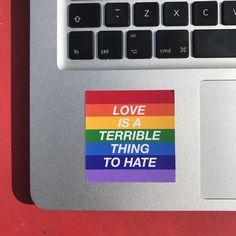 Excited to share this item from my shop: LGBTQ+ Rainbow Stickers - True Quotes - Love Stonewall Inn, Pansexual Pride, Gay Aesthetic, Under Your Spell, Rainbow Aesthetic, Bubbline, Lgbt Community, Love Is, Belle Photo