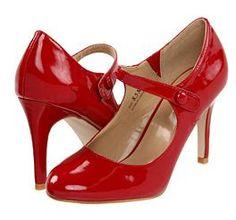 Red Patent MaryJanes
