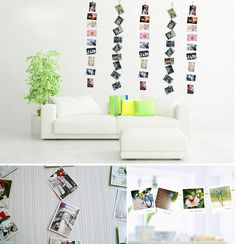 2 pieces magnetic photo stand Art Decal Home Room Party Décor Wedding Decoration Accessories  16042104
