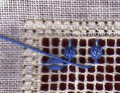 Ricamo, embroidery, broderie, bordado,.....: Tutorial: Punto Chiaromonte
