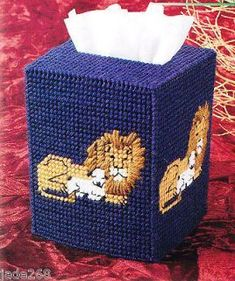 Baby Lamb Tissue Cover, Annies