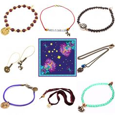 🌟Heavenly Holiday Gift Ideas for the Astrophile 🌟 — If you have been searching heaven and earth for ideal holiday gifts for the star gazer in your life, look no further.. We have a stellar range of spiritual and superlunary gift ideas from our variety of jewellery and accessories collections that will shine bright this Christmas including personalised zodiac sign jewellery, Kabbalah token gemstone bracelets and our stunning 'Stelle' star Tarot card inspired silk scarves.