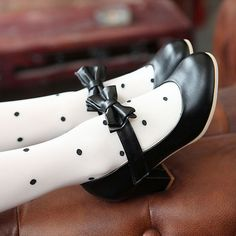 """kawaiiconnection: """"Womens Mary Jane Lolita Pumps w/ Bow – US $29.99 Click Here for the Cutest Fashion Finds! """""""