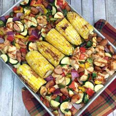 I get too busy to cook healthy dinners for my family. This recipe saved my sanity! Learn how to make my easy healthy BBQ chicken sheet pan dinner recipe! Healthy Crockpot Recipes, Easy Healthy Dinners, Easy Dinner Recipes, Dinner Ideas, Dump Recipes, Simple Recipes, Pizza Recipes, Potato Recipes, Meal Ideas