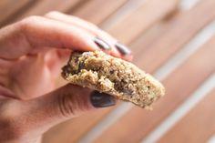 no-bake grain-free chocolate chip cookies!