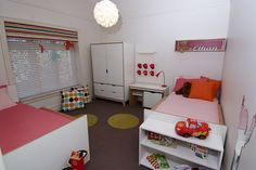A colourful kids bedroom by Kids In Designed Spaces Girls Bedroom Colors, Kids Bedroom, Creative Play, Room Inspiration, Little Boys, Toddler Bed, Spaces, Inspired, Retro