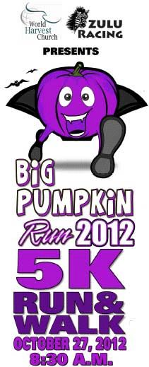 Big Pumpkin Run 5K in Roswell on October 27, 2012