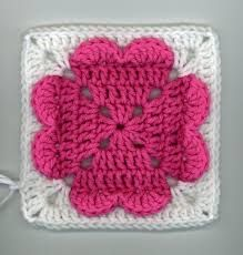 Bildresultat för hello kitty granny square pattern