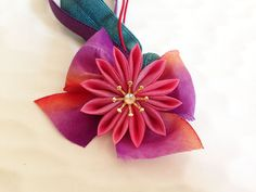 Japanese hair tie elastic HTS002 by Keikonoheya on Etsy