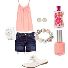 """relaxing summer"" by taraelliottchetty on Polyvore"