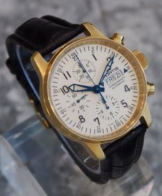 Fortis Swiss Watch Solid Gold