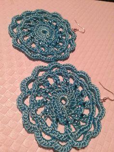 Earrings Crochet