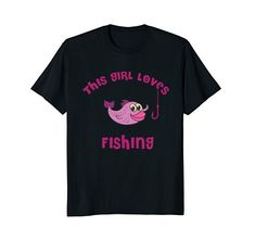Gifts For Kids, Gifts For Women, Cute Woman, Fishing, Amazon, Tees, Mens Tops, T Shirt, Presents For Kids