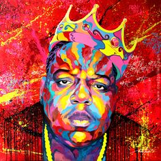Notorious BIG by Noé Two http://www.noetwo-gallery.com/wp-content/uploads/2012/04/BIGGIE-ReadyToDie_800px.jpg
