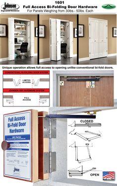 Johnson Hardware® 1601 U0027FULL ACCESSu0027 BI FOLDING DOOR HARDWARE