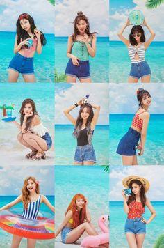 Twice Dance the Night Away Nayeon, K Pop, Kpop Girl Groups, Korean Girl Groups, Kpop Girls, Twice Dahyun, Tzuyu Twice, Oppa Gangnam Style, Twice Photoshoot