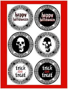 Halloween con Glamour: Kits para Imprimir Gratis. Fiestas de Adultos.