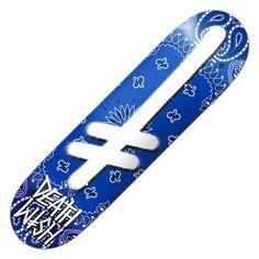 DEATHWISH Gang Logo Rivals blue planche de skateboard 8.25 pouces 70,00 € #skate #skateboard #skateboarding #streetshop #skateshop @playskateshop