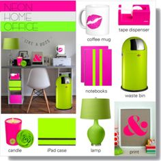 Neon Home Office