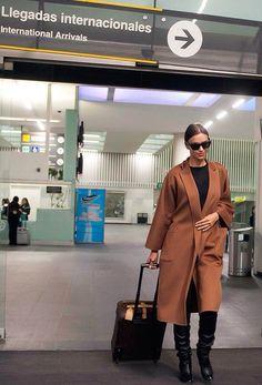 Irina Shayk - irina shayk airport style #irinashayk #irinashaykstyle #fashion #loveluxury