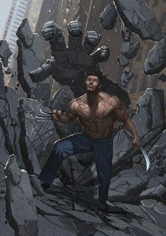 Wolverine by Rock-He Kim