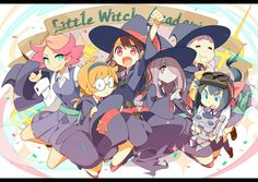 ( Good anime for Harry Potter lovers AND Anime fans! =^_^= ki ) Little Witch Academia Little Witch Academia