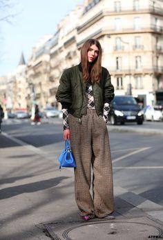 Streetstyle Post: PFW- 6 Looks to Love: Ursina Gysi on #ATPB goo.gl/Jo12Ki