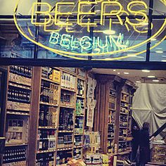 Where to Buy Beer in Brussels - Belgium in a Glass