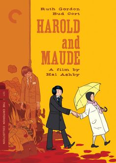 This is the best film artwork I've ever seen, maybe. Harold and Maude is now available on Criterion! Rejoice!