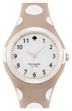 8dc6bec76151c kate spade new york  rumsey  plastic strap watch
