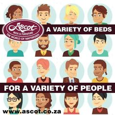 ASCOT BEDS & FURNITURE - WE HAVE A VARIETY OF DIFFERENT BEDS, TO SUIT A VARIETY OF DIFFERENT PEOPLE... If you cannot find a bed or mattress at Ascot Beds & Furniture to suit your requirements, it probably doesn't exist. Visit one of our stores today. Speak to one of our knowledgeable and experienced sales staff on the best suited bed or mattress that you need.  ☎️011 907 6022 - Alberton  ☎️011 894 3086 - Boksburg  ☎️011 431 0093 - Blackheath VISIT OUR WEBSITE FOR MORE INFORMATION ON THE…