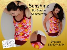 Sommertop Damen freebook