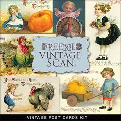 Scrapbooking TammyTags -- TT - Designer - Far Far Hill,  TT - Item - Element, TT - Theme - Autumn or Thanksgiving, TT - Theme - Vintage