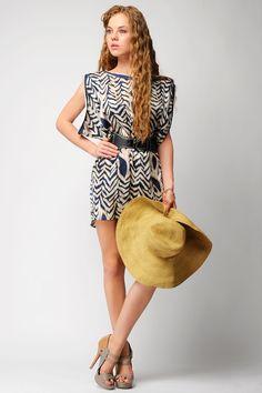 Mini Satin Dress / Rs.1290