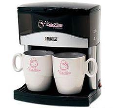 Hello Kitty 2 cups coffee maker