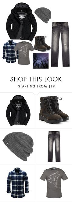 """""""outdoor boy"""" by epona-lee on Polyvore featuring Superdry, Yeezy by Kanye West, Outdoor Research, True Religion, men's fashion and menswear"""