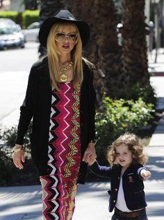 Rachel Zoe - Rachel Zoe Grabs Lunch With Her Son