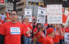 The joy of finally fighting back - a Chicago teacher writes about jubilation on the streets of Chicago - teachers are saying 'no more'!