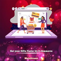 One click and your gifts go to the basket 💳📦🎁 🎄 Fast Easy Secured 🎄 Get people to buy your products by using a high-end supper e-commerce website from our super team 🎗 💻 mainstreampronet.com  📱 +961 70 98 31 99 #mainstreampronet #mainstream #digitalmarketing #websitedevelopment #holidayseason #ChristmasGift Digital Marketing Services, Ecommerce, Christmas Gifts, Basket, Website, Easy, People, Products, Xmas Presents