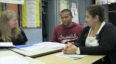 Rafael, a tenth-grade student at Washington Heights Expeditionary Learning School (WHEELS) in New York City discusses his progress with one of his teachers and his mother during his student-led conference. Rafael and his mother discuss the merits of student-led conferences.  This video is one of 27 videos that accompany Expeditionary Learning's new book, Leaders of Their Own Learning: Transforming Schools through Student-Engaged Assessment. For more information visit: ...