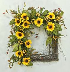 Crooked Tree Creations   Summer Floral Decor, Wreaths, Arrangements