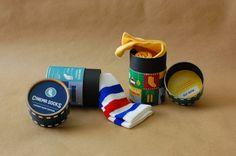 CINEMA SOCKS: Packaging Design on Behance