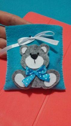 Sacchettino portaconfetti con orsetto