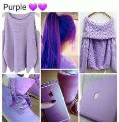 Love all this purple for spring and fall and winter clothing looks and style