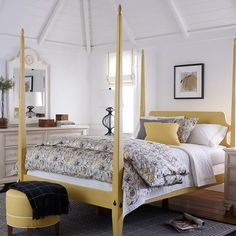 always wanted a bed like this in black.  but the yellow is pretty cool.