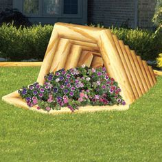 Landscape Timber Wheelbarrow Planter Plan What a cleaver way to