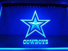 Dallas Cowboys NR Super Bowl LED Neon Light Sign #Unbranded #Modern