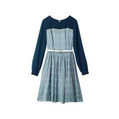 カレン ウォーカー(KAREN WALKER)|Item Searchファッション|VOGUE ❤ liked on Polyvore featuring dresses, blue, vestidos, blue dress, karen walker dress and karen walker