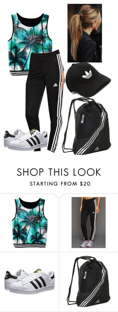 """""""Untitled #40"""" by mae1143 on Polyvore featuring adidas and adidas Originals"""